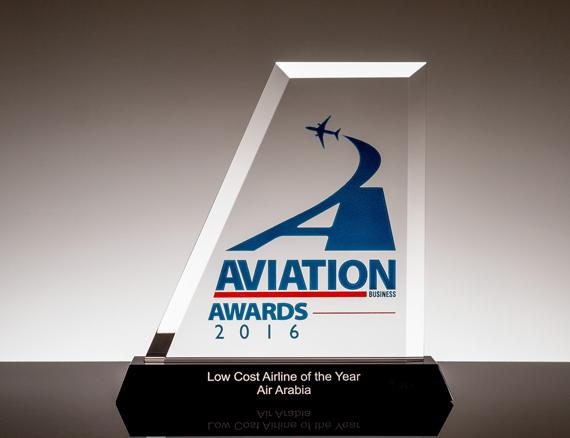 Air Arabia named 'Low Cost Airline of the Year' at Aviation Business Awards 2016