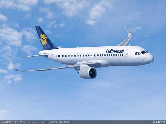 Lufthansa Group firms up order for six more A320neo and three A320ceo