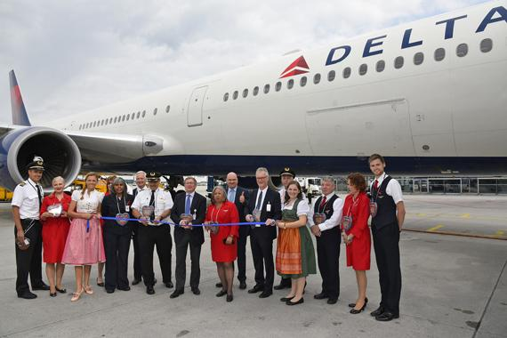 Delta Air Lines adds Munich to global route map