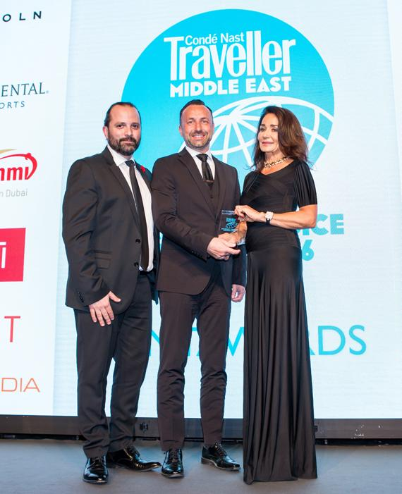 DXB Voted World's Best Airport for Layovers at the Conde Nast Traveller Awards 2016