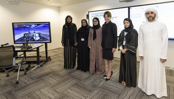 Emirati students participate in world-class training at CISS in Masdar City