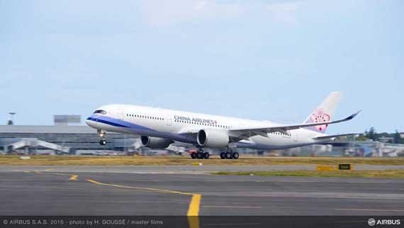 China Airlines becomes new operator of the A350 XWB