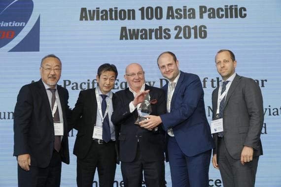 Aviation 100 Asia-Pacific awards the Ortus Aircraft Leasing Fund with Asia-Pacific Equity Deal of the Year