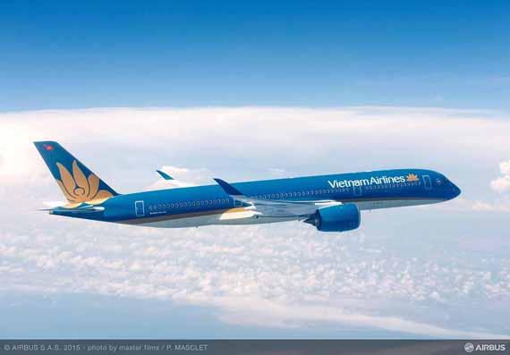 Vietnam Airlines signs MOU for 10 more A350 XWBs