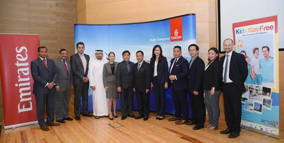 Cebu and Clark Route Launch by Emirates