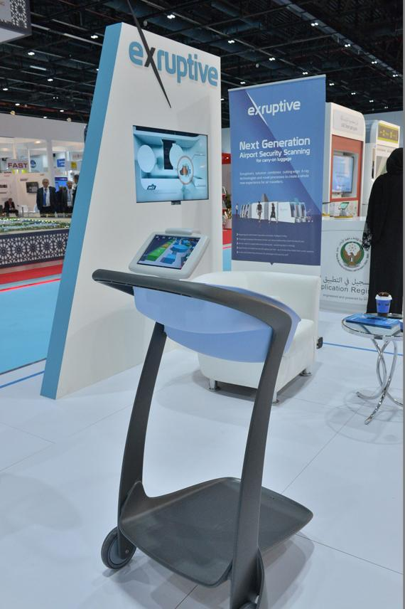Intelligent trolley offers enhanced security at airports