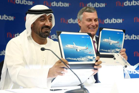 flydubai commits to US$ 27 billion order for 225 Boeing 737 MAX aircraft
