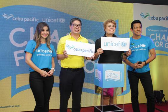 Cebu Pacific and UNICEF join forces for vital child health and nutrition campaign