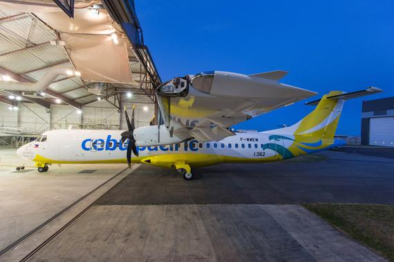 Cebu Pacific takes delivery of first ATR 72-600 High Capacity aircraft