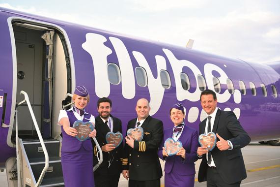 New from Munich: Flybe with daily service to Southampton