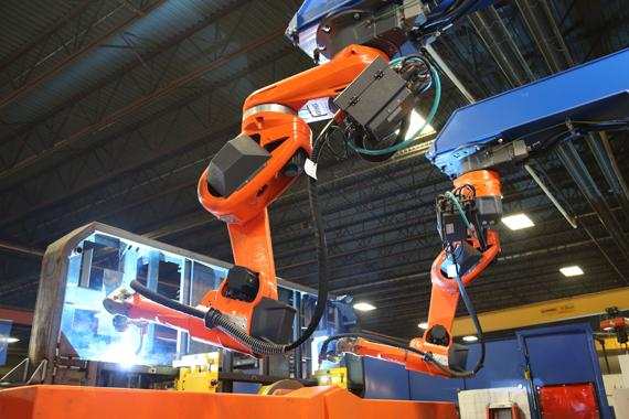 FAST Global Solutions Speeds Quality Production with Large Robotic Welder