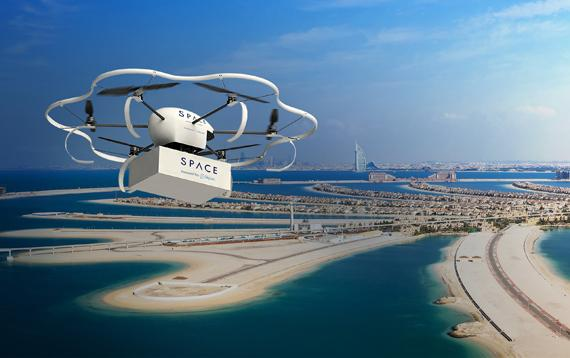 Partnership Between Eniverse Technologies and Skycart to Introduce Autonomous Drone Delivery Service Technology to the UAE