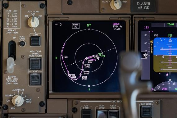 DFS, Lufthansa and Fraport launch new precision navigation system for a departure procedure