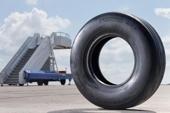Michelin Will Equip the Boeing 777-300ER on the Final Assembly Line with its NZG Radial Technology Tires