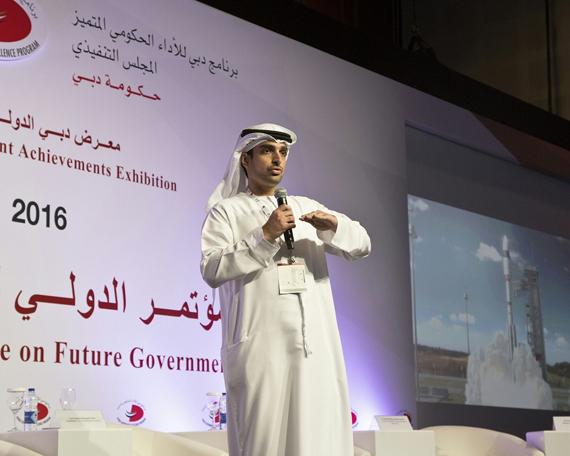 Engineer Omran Sharaf, Project Manager of the Emirates Mars Mission