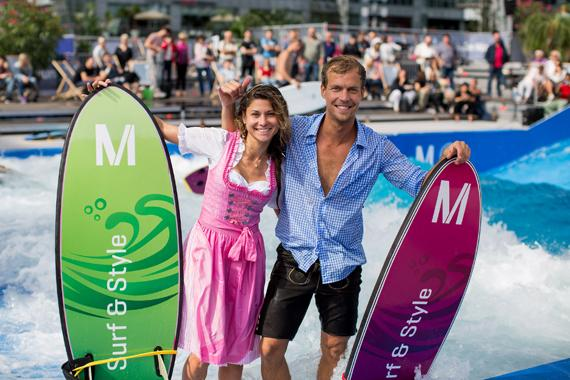 """Board meets beerfest: Munich Airport presents the sixth edition of """"Surf & Style"""""""