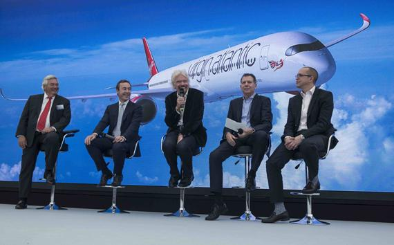 Virgin Atlantic invests in the future with order for A350-1000 aircraft