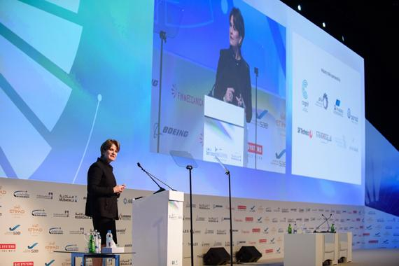 Marillyn Hewson to Share positive impact of international partnerships at Global Aerospace Summit 2018