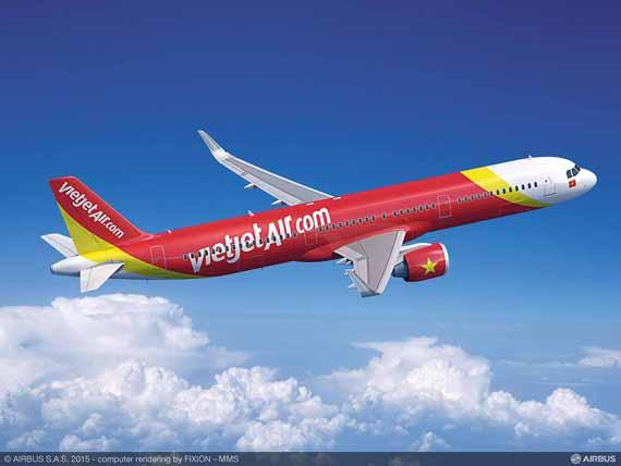 Vietjet to expand its Airbus fleet with new order for 20 A321s