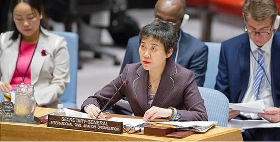 Further cooperation and progress on aviation security essential, ICAO SG declares at UN Security Council