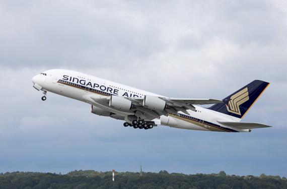 New Singapore Airlines A380 takes to the skies
