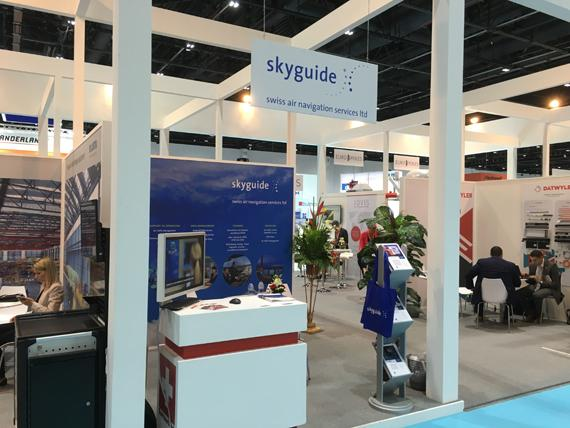 Successful Participation for skyguide at the Dubai Airport Show 2016