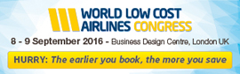 World Low Cost Airlines Congress 2016