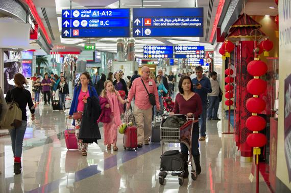 DXB welcomes 6.4 million passengers in October