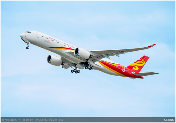Hong Kong Airlines becomes new operator of the A350 XWB