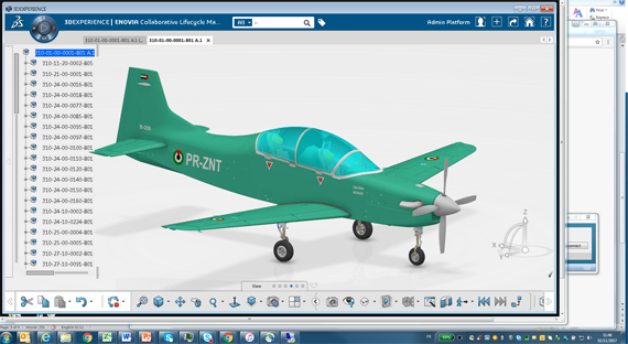 Dassault Systèmes' 3DEXPERIENCE Platform used to Develop the First Aircraft to Be Made in the  United Arab Emirates