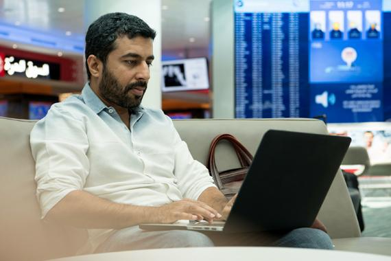 DXB Wows passengers with the world's fastest free airport Wi-Fi
