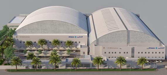 DC Aviation Al-Futtaim to open second hangar during  Dubai Airshow