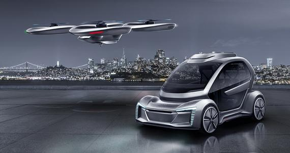 Airbus and Audi partner to provide air & ground urban mobility services