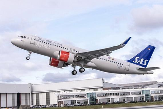SAS takes delivery of its first A320neo